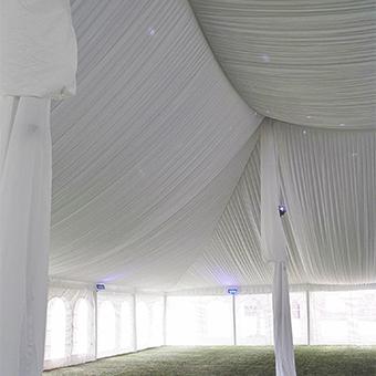tent ceiling liner rental