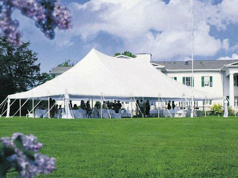 Tent rentals Linen rentalschair rentals from Burkeu0027s Tent Rentals & 40u0027 x 60u0027 Pole Tent