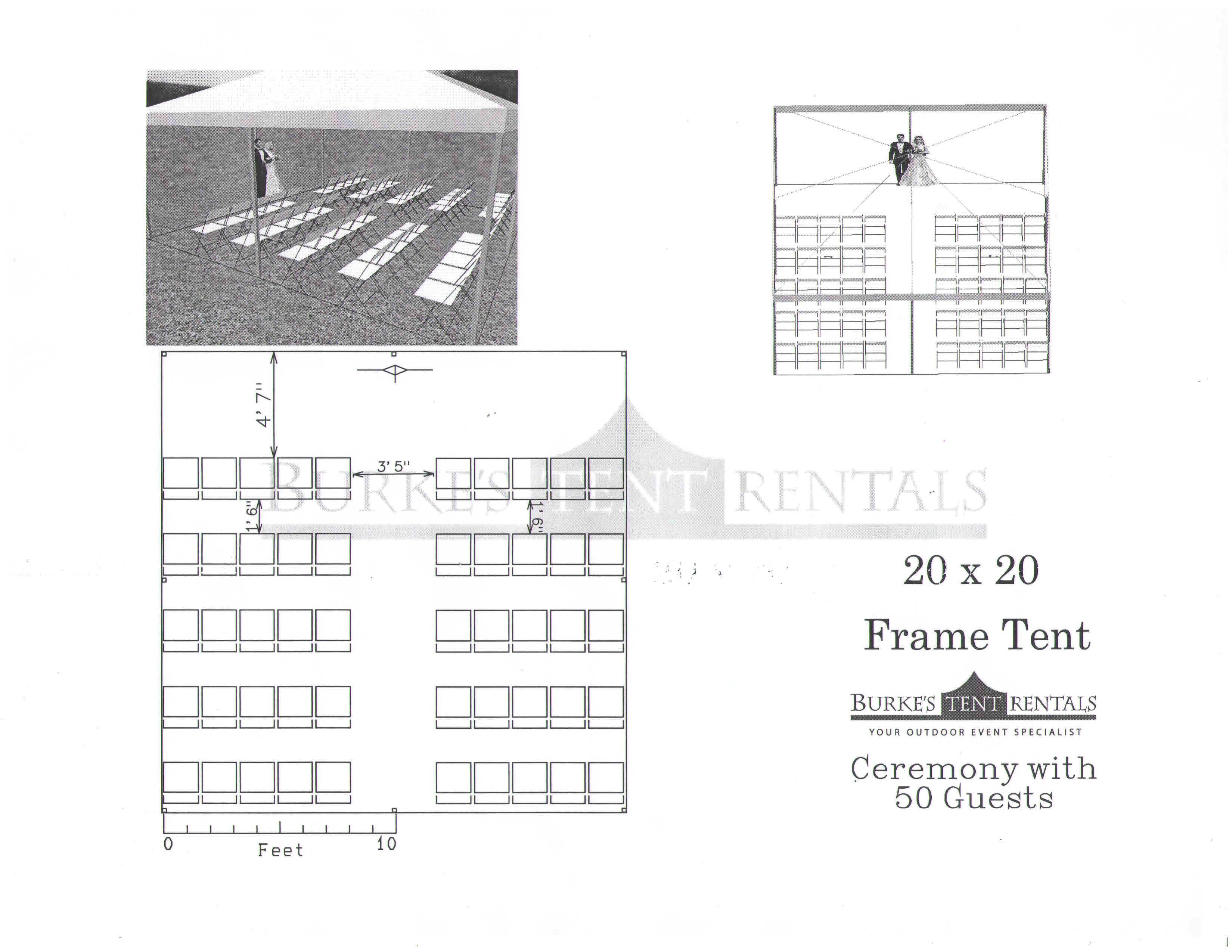 Tent rentals, Linen rentals,chair rentals from Burke\'s Tent Rentals
