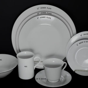 Dishware: Royal White